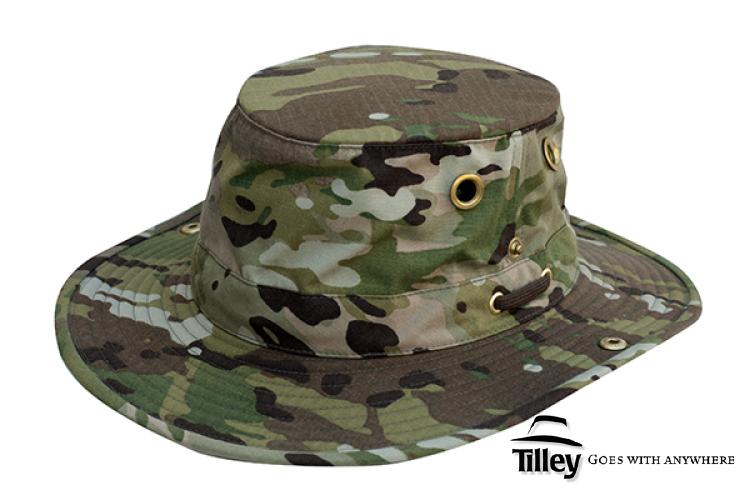 TILLEY T3 HAT IN MULTICAM  59ab293620c