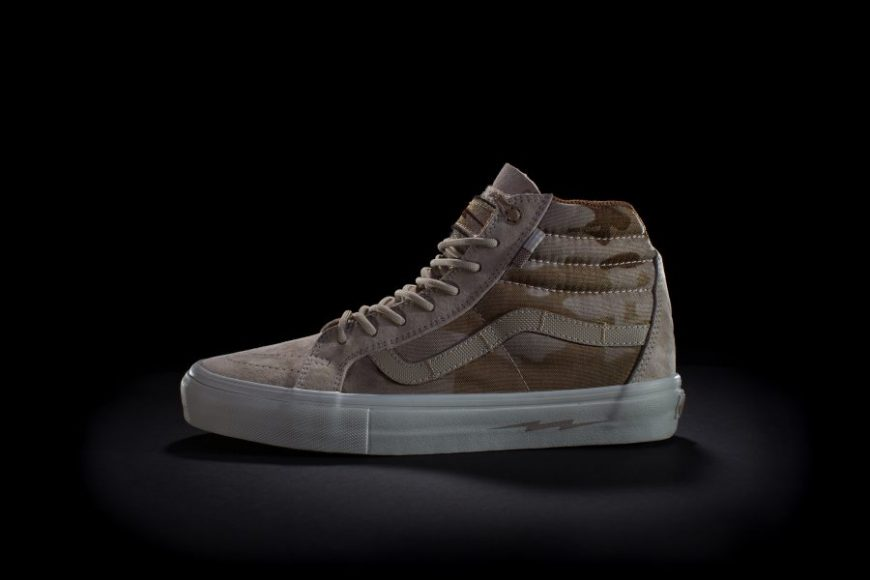 023dc83eb14668 The long awaited DEFCON Vans Syndicate Sk8-Hi Notchback Pro shoes are on  sale today at select retailers. We were excited to yet again collaborate  with ...